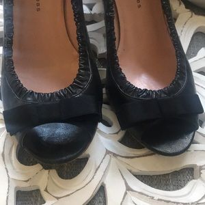 Marc Jacobs Leather Heels Shoes Woman's 38